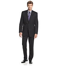 Calvin Klein Men's Black Stripe Suit Separates