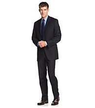 Calvin Klein Men's Navy Stripe Suit Separates
