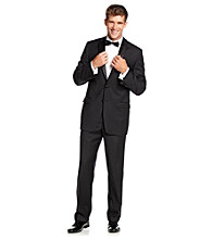 Calvin Klein Men's Black 2 Button Tuxedo Suit Separates