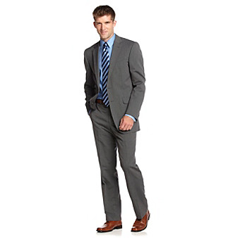 Kenneth Cole REACTION® Men's Black and White Pindot Suit Separates