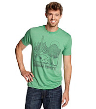 Junk Food® Men's Green Heather Snoopy