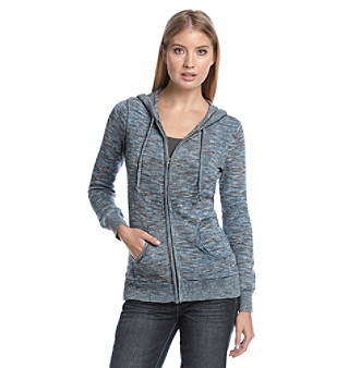 Ruff Hewn Zip-Front Hooded Sweater