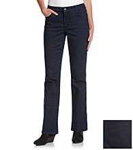 Laura Ashley® Rinse Wash Bootcut Jeans