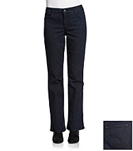 Laura Ashley® Petites' Rinse Wash Bootcut Jeans