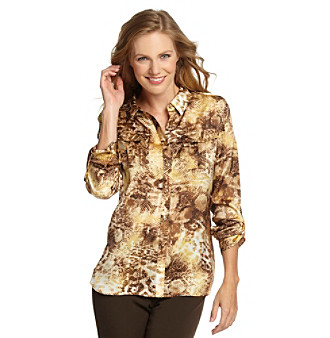 Jones New York Signature® Petites' Safari Shirt