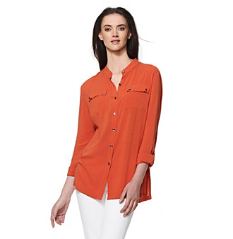 Jones New York Sport® Petites' Utility Blouse