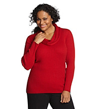 Jones New York Sport® Petites' Cowlneck Sweater