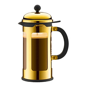 Bodum® Chambord Gold 8-Cup French Press Coffeemaker with Spill-Proof Spout