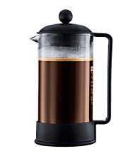 Bodum® Brazil Black Plastic French Press Coffeemaker