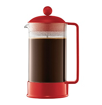Bodum® Brazil 8-Cup French Press Coffeemaker with Ultralight, Heat-Resistant Glass Beaker