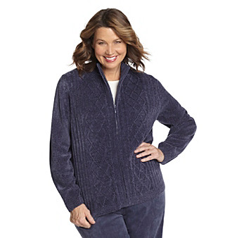 Alfred Dunner® Plus Size Cardigan Sweater