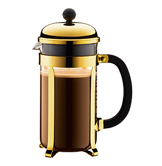Bodum Chambord 8-Cup French Press Coffee Maker (Yellow)