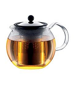 Bodum® Assam 34-oz. Tea Press Teapot with Stainless Steel Filter and Glass Handle