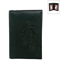 Marvel® Spider-Man Black Leather Front Pocket Wallet