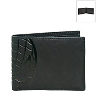 Marvel® Spider-Man Black Leather Slimfold Wallet