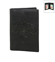 Marvel® Avengers Black Leather Front Pocket Wallet