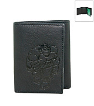 Marvel® Avengers Black Leather Trifold Wallet