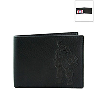 Marvel® Avengers Black Leather Slimfold Wallet