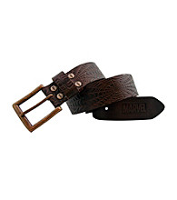 Marvel® Spider-Man Brown Leather Belt