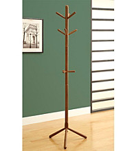 Monarch Oak Contemporary Rack