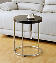 Monarch Cappuccino Simple Metal Accent Table