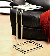Monarch Metal Adjustable Height Accent Table