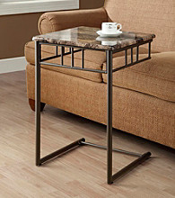 Monarch Windsor Bronze Metal Snack Table