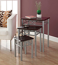 Monarch 3-pc. Madison Nesting Table Set