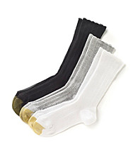 GOLD TOE® Lacey AquaFX Crew Sock 3-Pack