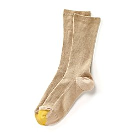 GOLD TOE® AquaFX® Crew Socks with Non-Binding Top