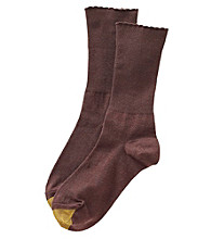 GOLD TOE® Picot Cuff Socks with AquaFX®