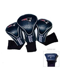 New England Patriots Golf Contoured Headcover 3-Pack