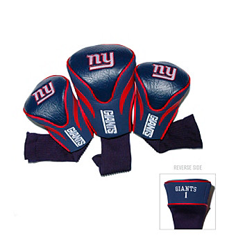 New York Giants Golf Contoured Headcover 3-Pack