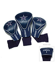 Dallas Cowboys Golf Contoured Headcover 3-Pack