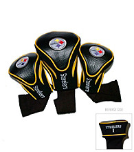 Pittsburgh Steelers Golf Contoured Headcover 3-Pack