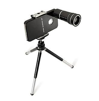The Sharper Image® 10 x Zoom Telescopic iPhone Camera Lens with Stand