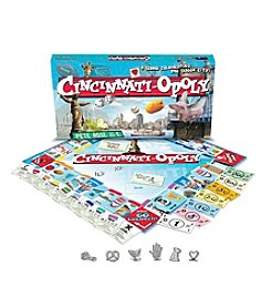 Late for the Sky Men's Cincinati-opoly Board Game