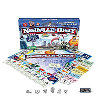 Late For the Sky Men's Nashville-opoly Board Game