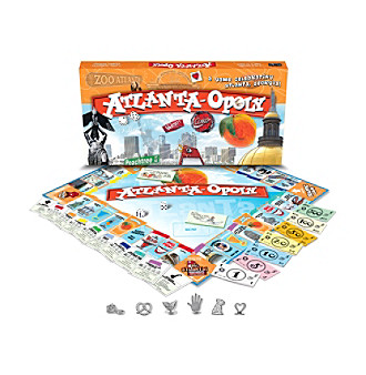 Late For the Sky Atlanta-opoly Board Game