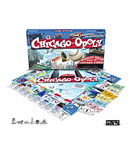 Late For the Sky Chicago-opoly Board Game