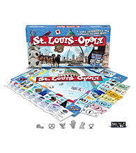 Late For the Sky St. Louis-opoly Board Game