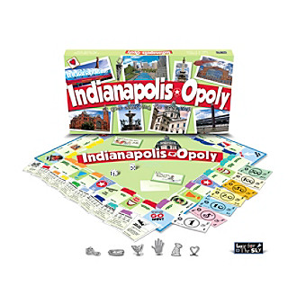 Late For the Sky Indianapolis-opoly Board Game