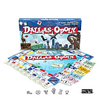 Late For the Sky Dallas-opoly Board Game