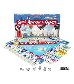 Late For the Sky San Antonio-opoly Board Game