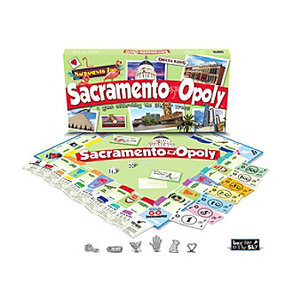 Late For the Sky Sacramento-opoly Board Game