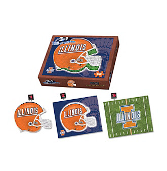 University of Illinois Fightn Illini  3-in-1 Puzzle