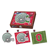 Ohio State University Buckeyes 3-in-1 Puzzle
