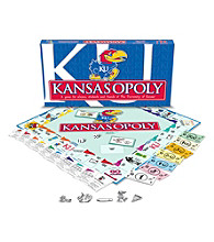Late for the Sky University of Kansas Jayhawks Kansasopoly