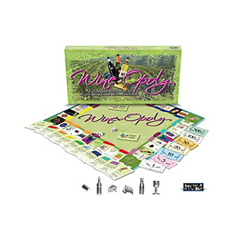 Late for the Sky Wine-opoly Board Game