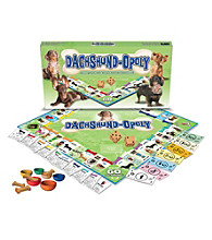 Late for the Sky Dachshund-opoly Board Game